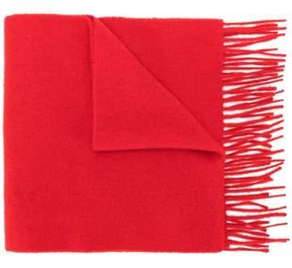 Pringle slim knit scarf