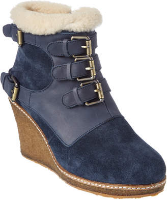 Australia Luxe Collective Monk Suede Wedge