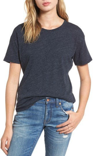 Women's Madewell 'Whisper' Cotton Crewneck Tee