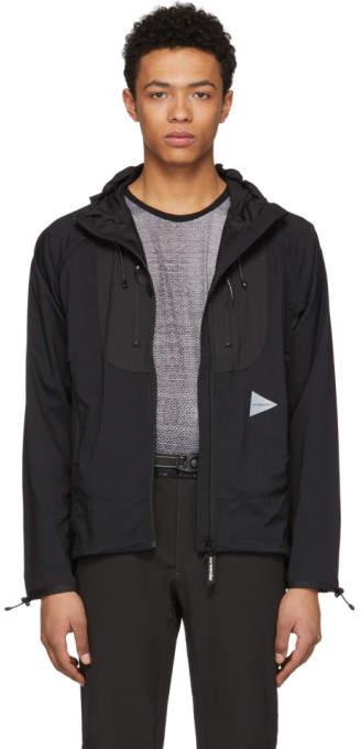 And Wander Black Trek Jacket