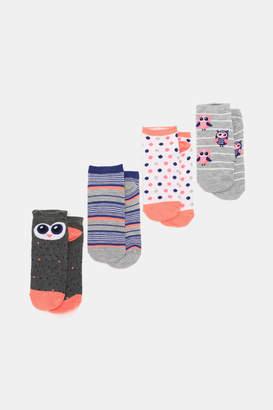 Ardene Owl Ankle Socks