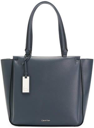 Calvin Klein front pocket tote bag