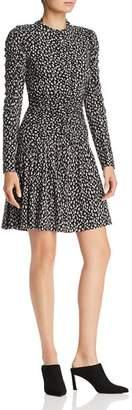 Rebecca Taylor Mini Cheetah Print Dress