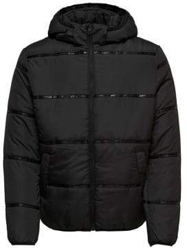 ONLY & SONS Silaz Hooded Short Puffer Jacket