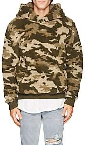 ATM Anthony Thomas Melillo Men's Camouflage Sherpa Hoodie - Green