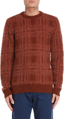 Norse Projects Sam Intarsia Check Wool Sweater