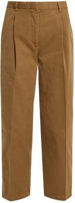 Acne Studios Tabea straight-leg cotton trousers