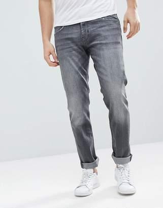 Esprit Slim Fit Jeans In Gray Wash