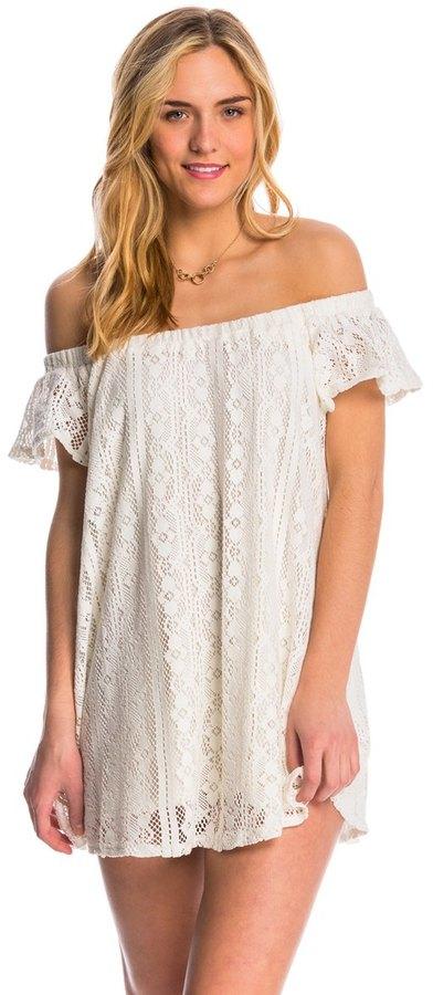 Roxy Azalea State Off The Shoulder Mini Dress 8145061