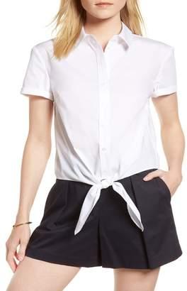 808735fe48b Women Stretch Poplin Shirt - ShopStyle