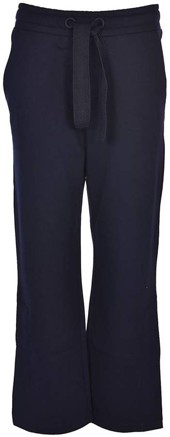 Flared Cropped Track Pants