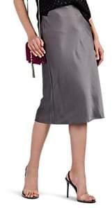 alexanderwang.t. Women's Washed Satin Skirt - Gray