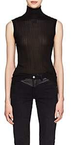 Givenchy Women's Rib-Knit Sleeveless Top - Black
