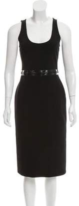 Givenchy Sleeveless Midi Dress