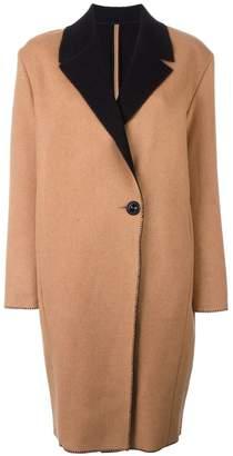 Fausto Puglisi single breasted coat