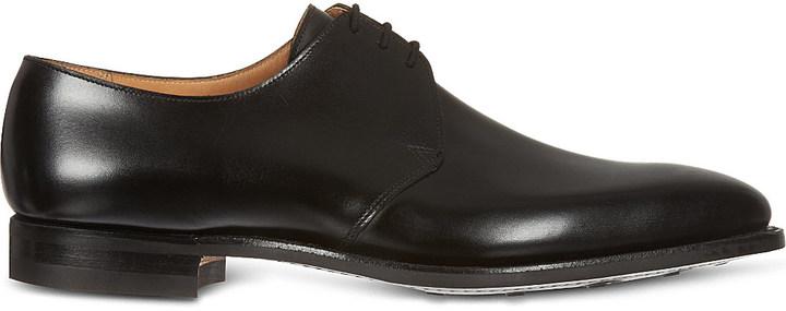 Crockett JonesCrockett & Jones Hibrey three-eye Derby shoes