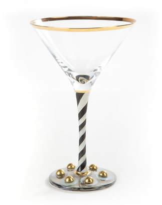 Mackenzie Childs MacKenzie-Childs Tango Martini Glass