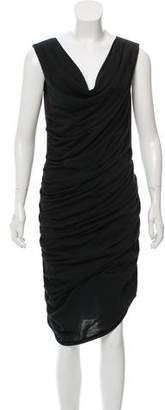 Fendi Sleeveless Gathered Dress