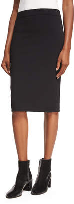 Vince Fitted Jersey Pencil Skirt
