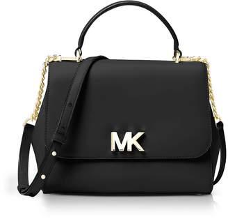 Michael Kors Mott Medium Leather Satchel Bag