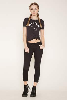 Forever 21 High-Waisted Skinny Jeans