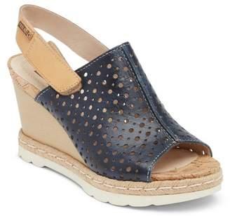 PIKOLINOS Bali Leather Wedge Sandal