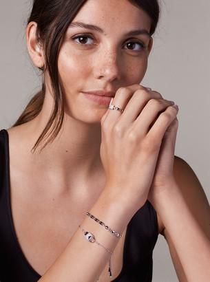 Michael Kors Precious Metal-Plated Sterling Silver Mercer Link Slider Bracelet