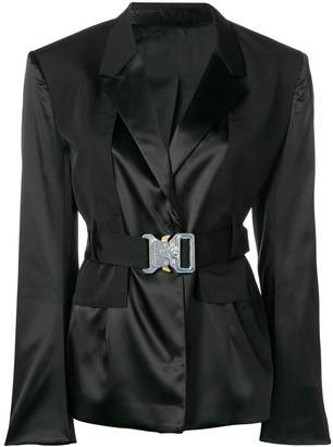 Alyx buckle belt blazer