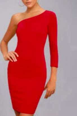 Lush One Shoulder Dress