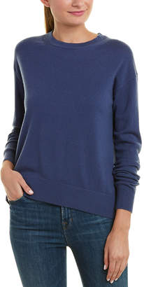 Vince Boxy Wool & Cashmere-Blend Pullover