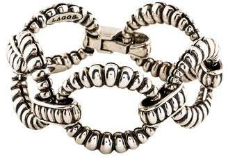 Lagos Oval Link Bracelet