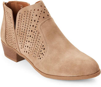 Indigo Rd Latte Casey Ankle Booties
