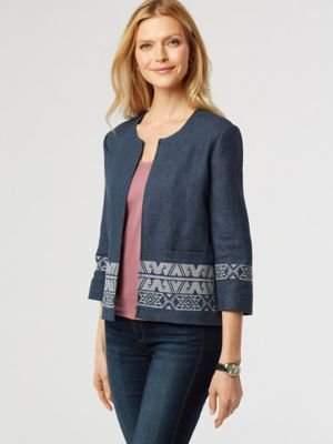 Pendleton Women's Embroidered Zip Jacket