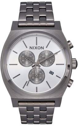 Nixon 'The Time Teller' Chronograph Bracelet Watch, 39mm