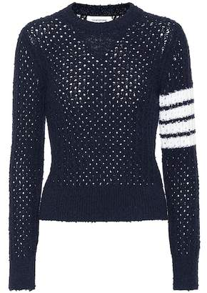 Thom Browne Wool-blend sweater
