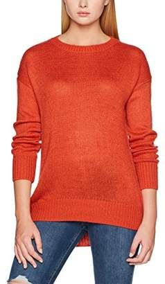 New Look Women's Longline Regular Fit Long Sleeve Jumper,S (Manufacturer Size: 38)