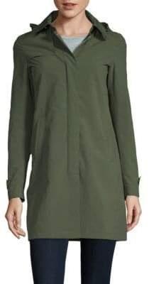 P.A.R.O.S.H. Collared Raincoat