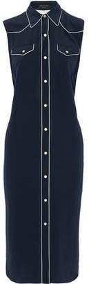 Rag & Bone Jesse Silk Midi Shirt Dress