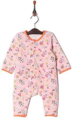 Kid's Pajama & More オレンジ キルトカバーオール