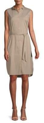 Lafayette 148 New York Harleen Sleeveless Shirtdress