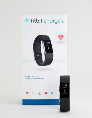 Fitbit Charge 2 Smart Watch in Black