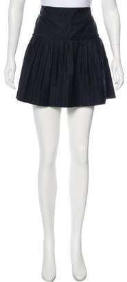 Joseph Pleated Mini Skirt