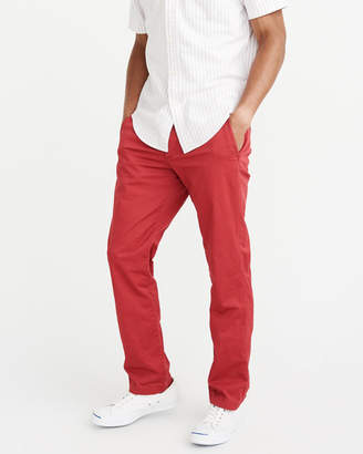 Abercrombie & Fitch Straight Chino Pants
