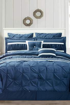 Duck River Textile Marlin 10-Piece King Comforter Set - Navy