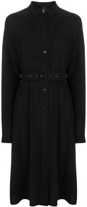 Aspesi belted shirt dress