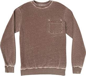 RVCA Men's Barrel Pocket Crew Sweatshirt