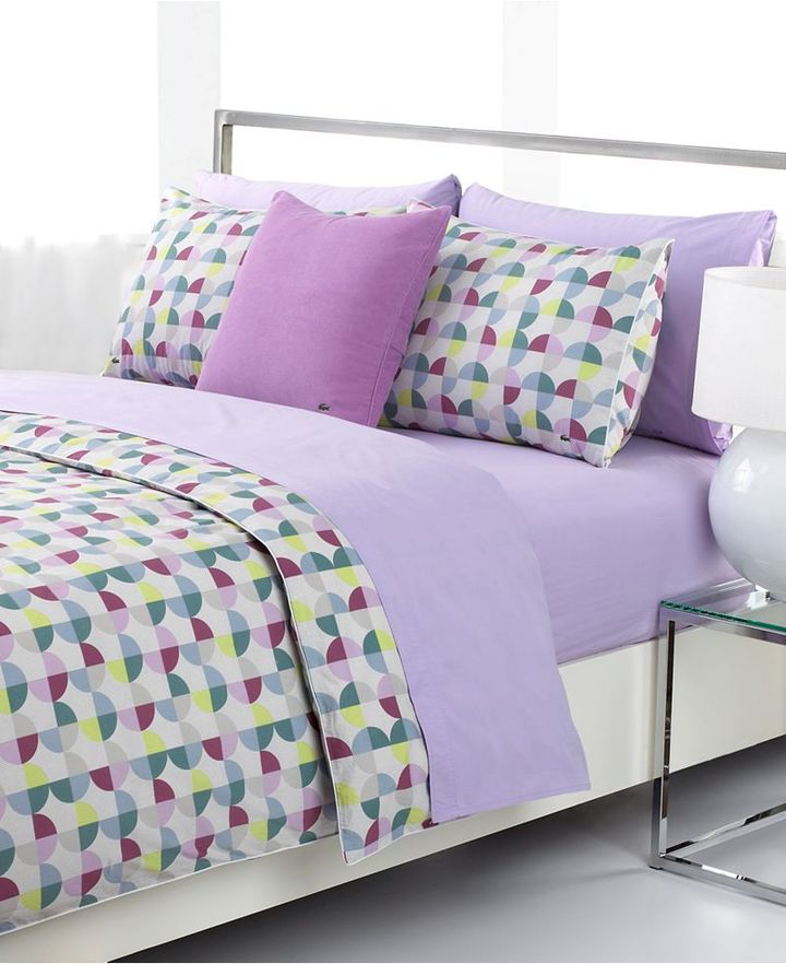 CLOSEOUT! Lacoste Bedding, Clipper Comforter and Duvet Cover Sets