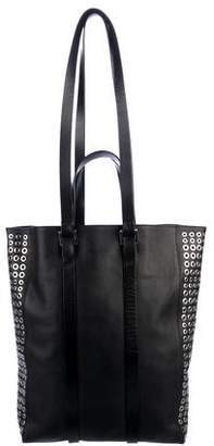 CNC Costume National Grommet-Accented Tokyo Tote