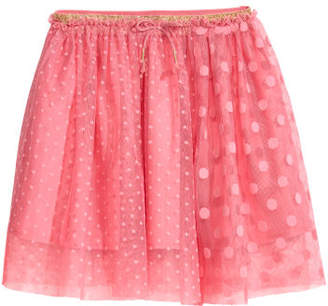 H&M Patterned Tulle Skirt - Pink