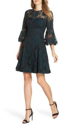 Eliza J Bell Sleeve Lace Dress